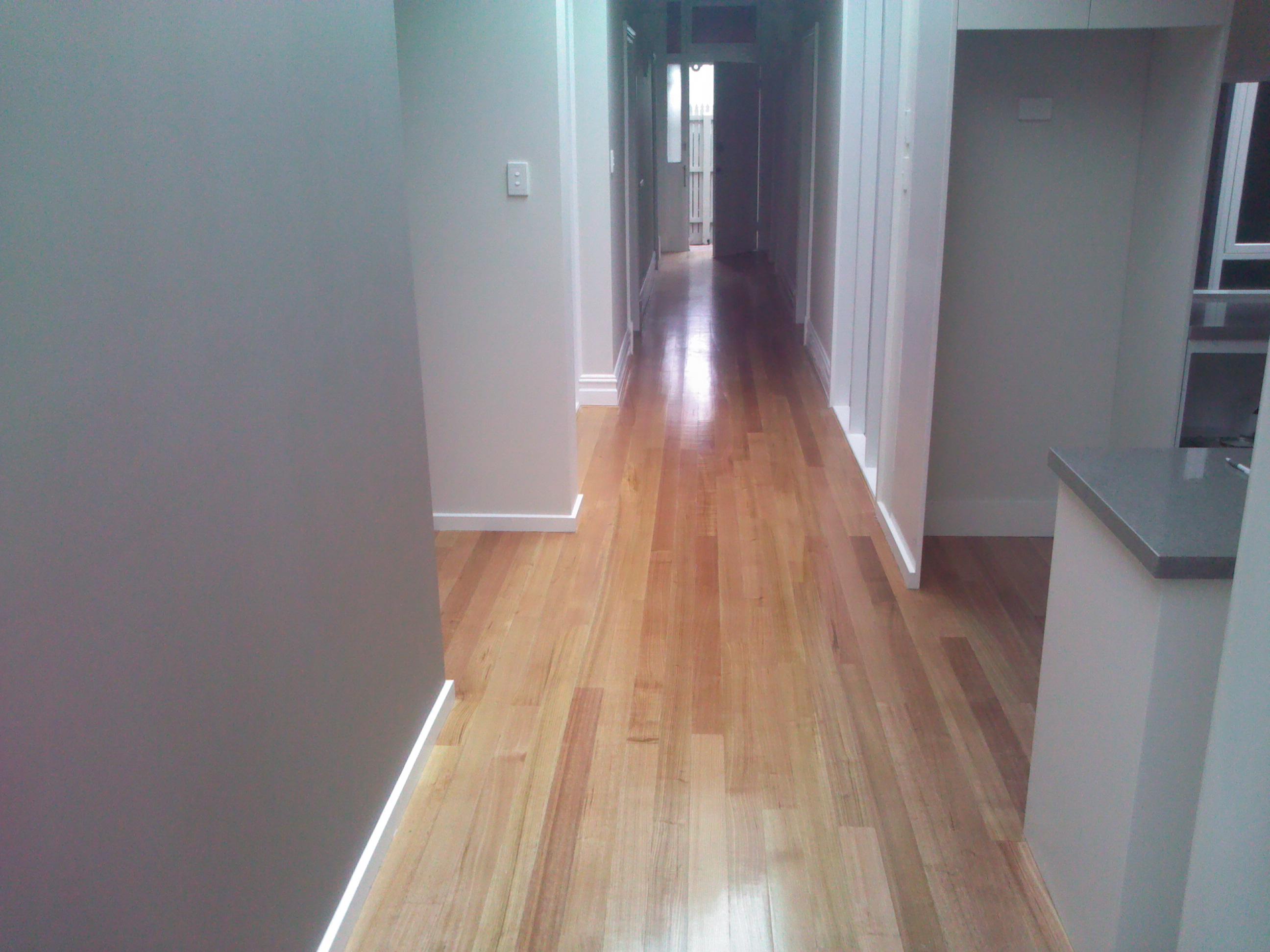 Polished floors-South Yarra Renovation