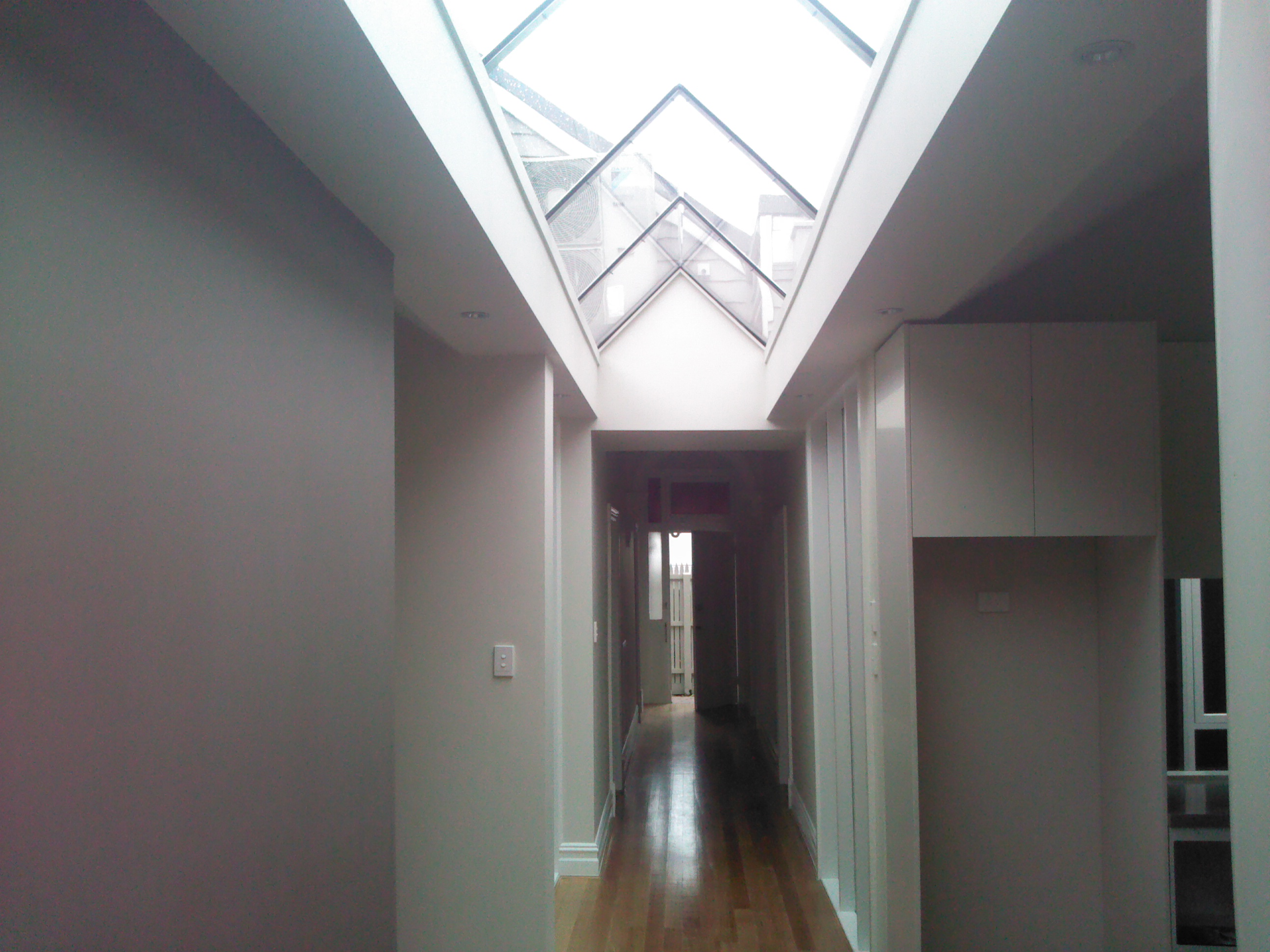 Atrium ceiling-South Yarra Renovation-South Yarra Renovation